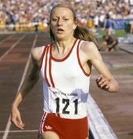 Norweigan Marathon Runner Grete Waitz