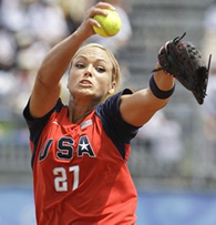 Softball Player Jennie Finch