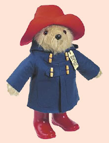 Paddington Bear puzzles by Rosanne Tolin